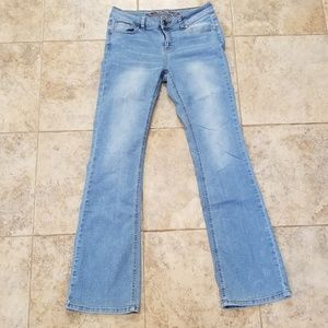 Wax Jean Good Condition Stretchy Boot Cut Jeans